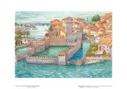 Poster 02 Lungo le coste del Garda: Sirmione e il Castello Scaligero