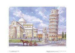 Poster 02 Pisa: La Cattedrale e la Torre Pendente