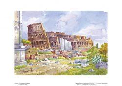 Poster 02 Roma: Il Foro Romano e il Colosseo