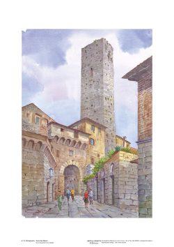 Poster 02 S. Gimignano: Arco dei Becci