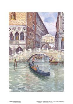 Poster 02 Venezia: In gondola sul canale