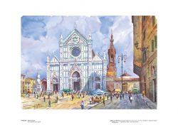 Poster 21 Firenze: Santa Croce