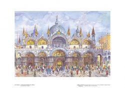 Poster 20 Venezia: L' affascinante Basilica di San Marco