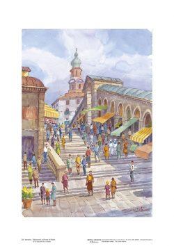 Poster 23 Venezia: Saliscendi al Ponte di Rialto