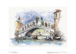 Poster 24 Venezia: Il Ponte di Rialto