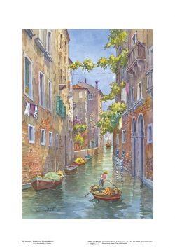 Poster 25 Venezia: Il delizioso Rio dei Meloni