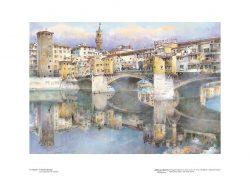 Poster 03 Firenze: Il Ponte Vecchio