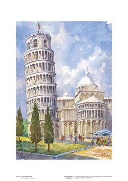 Poster 03 Pisa: La Torre Pendente