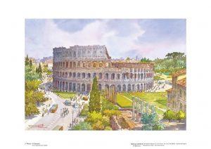 Poster 03 Roma: Il Colosseo