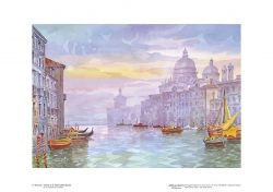 Poster 03 Venezia: Chiesa di Santa Maria della Salute