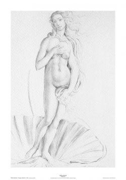 Poster 02 Omaggio a Botticelli: La nascita di Venere
