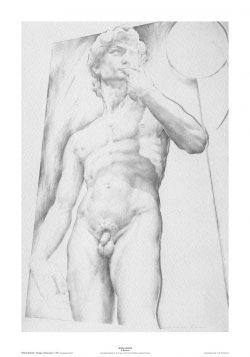 Poster 01 Omaggio a Michelangelo: Il David