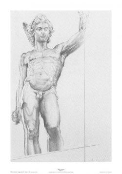 Poster 02 Omaggio a B. Cellini: Particolare del Perseo