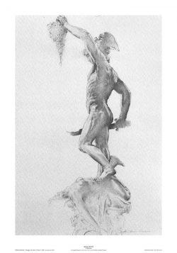Poster 03 Omaggio a B. Cellini: Il Perseo vista tergale