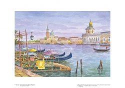 Poster 04 Venezia: Isola e chiesa di San Giorgio Maggiore