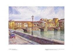 Poster 05 Firenze: Il Ponte Vecchio