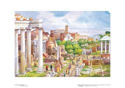 Poster 05 Roma: Foro Romano