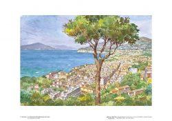 Poster 05 Sorrento: La bellissima città abbracciata dal mare