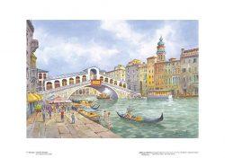 Poster 05 Venezia: Il Ponte di Rialto
