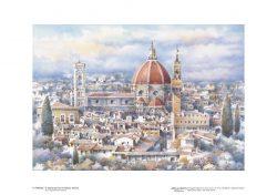 Poster 06 Firenze: Santa Maria del Fiore e Palazzo Vecchio