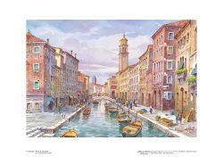 Poster 07 Venezia: Rio di San Barnaba