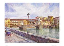 Poster 01 Firenze: Il Ponte Vecchio