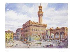 Poster 03 Firenze: Piazza della Signoria