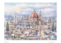 Poster 04 Firenze: Santa Maria del Fiore e Palazzo Vecchio