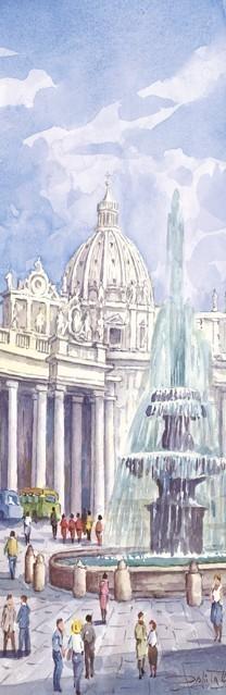 SL 01 Roma - Angolo suggestivo di Piazza San Pietro