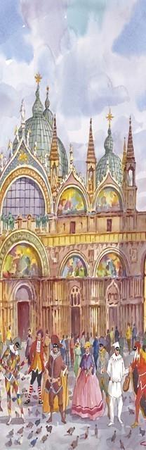 SL 10 Venezia - Le Maschere Veneziane in Piazza San Marco