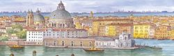 """SL 12 Venezia - La Chiesa della Salute da """"La Giudecca"""""""