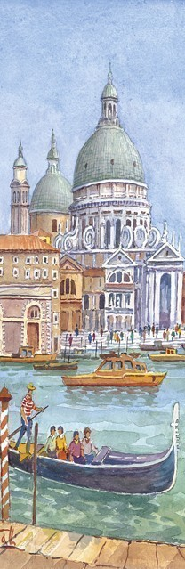 SL 15 Venezia - In gondola alla Salute