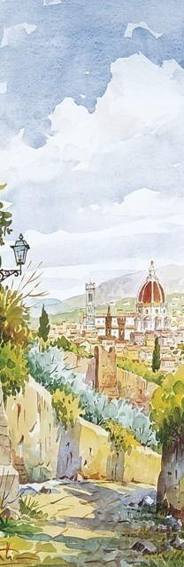 SL 17 Firenze - Panorama dall'Erta Canina