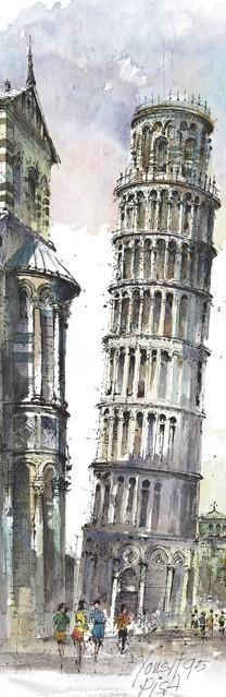 SL 02 Pisa - La Torre Pendente