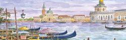 SL 02 Venezia - Isola e chiesa di San Giorgio Maggiore