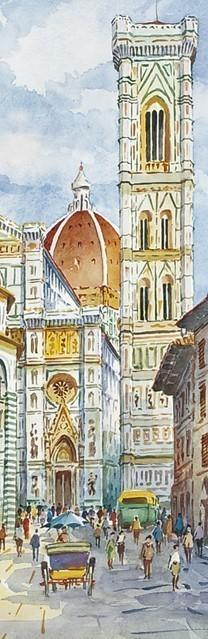 SL 20 Firenze - La Cattedrale e il Battistero