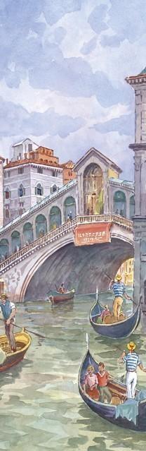 SL 20 Venezia - In gondola al Ponte di Rialto