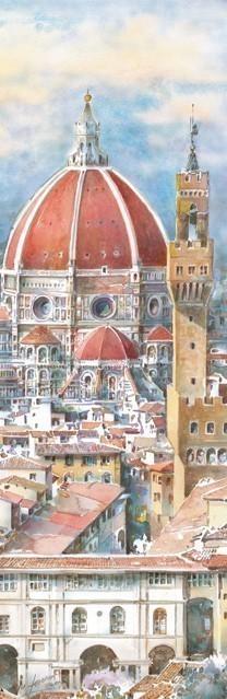 SL 21 Firenze - Il Cupolone e la Torre di Arnolfo