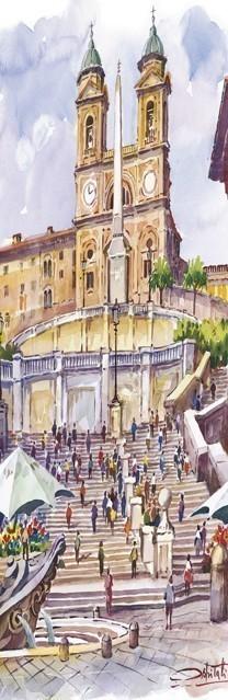 SL 07 Roma - Piazza di Spagna e Trinità dei Monti