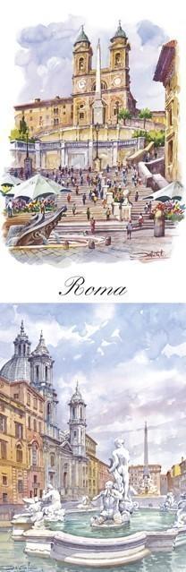 SL 09 Roma - Piazza di Spagna - Piazza Navona