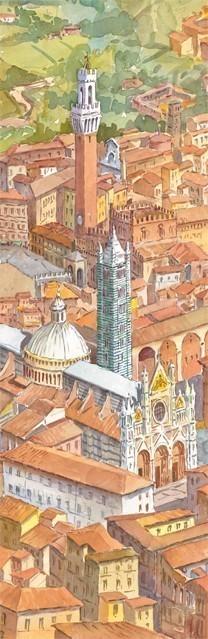 SL 06 Siena - La Cattedrale e la Torre del Mangia